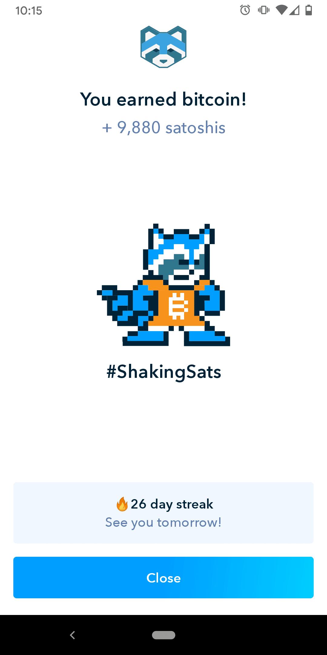 Shaking Sats