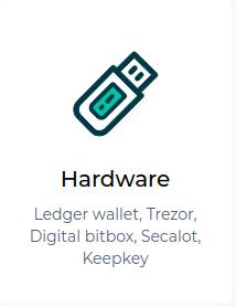 Trezor MEW Click Hardware